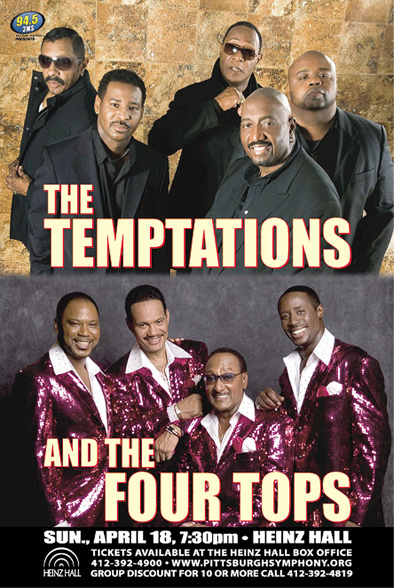 Temptations Four Tops Tour